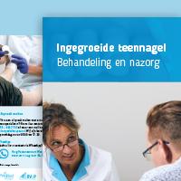 Folder Ingegroeide Teennagel