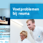 Folder voetproblemen Reuma