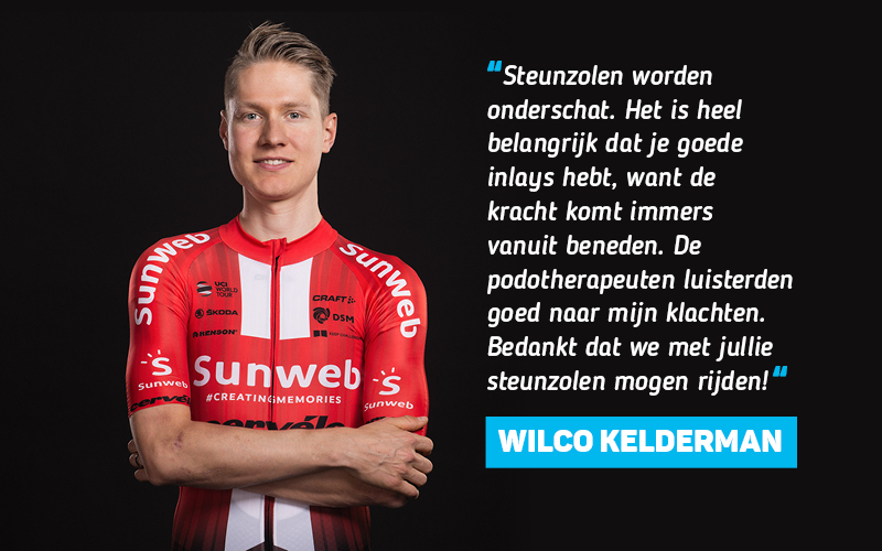 Wilco Kelderman over Voetencentrum Wender