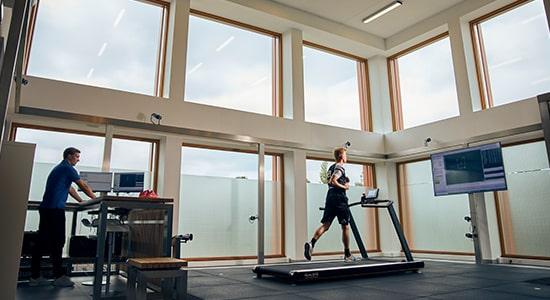 Qualisys bewegingsanalyse sportpodotherapie